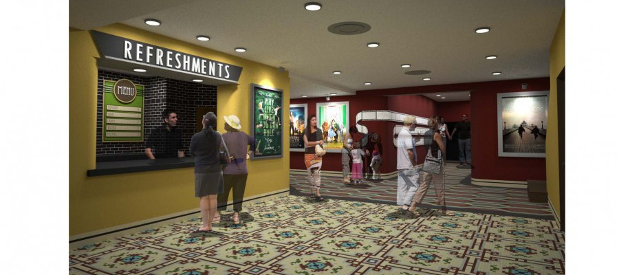 Lobby Concession Rendering