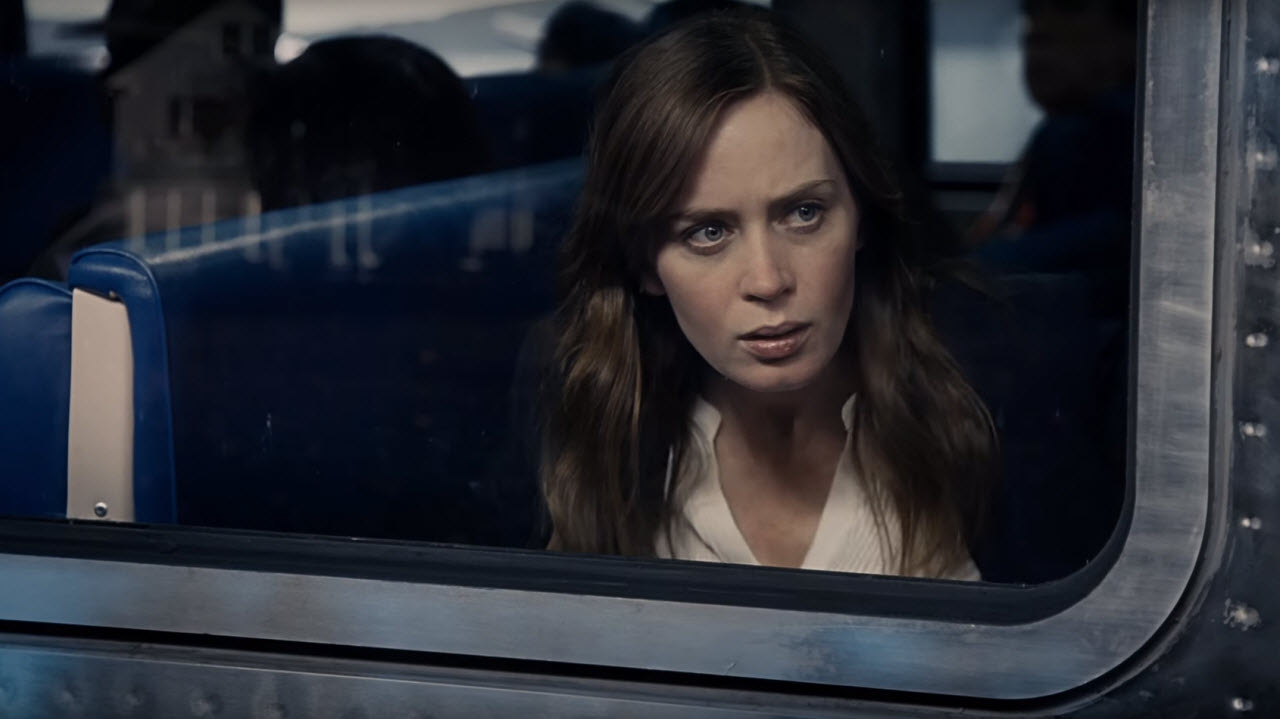 Image result for the girl on the train gif